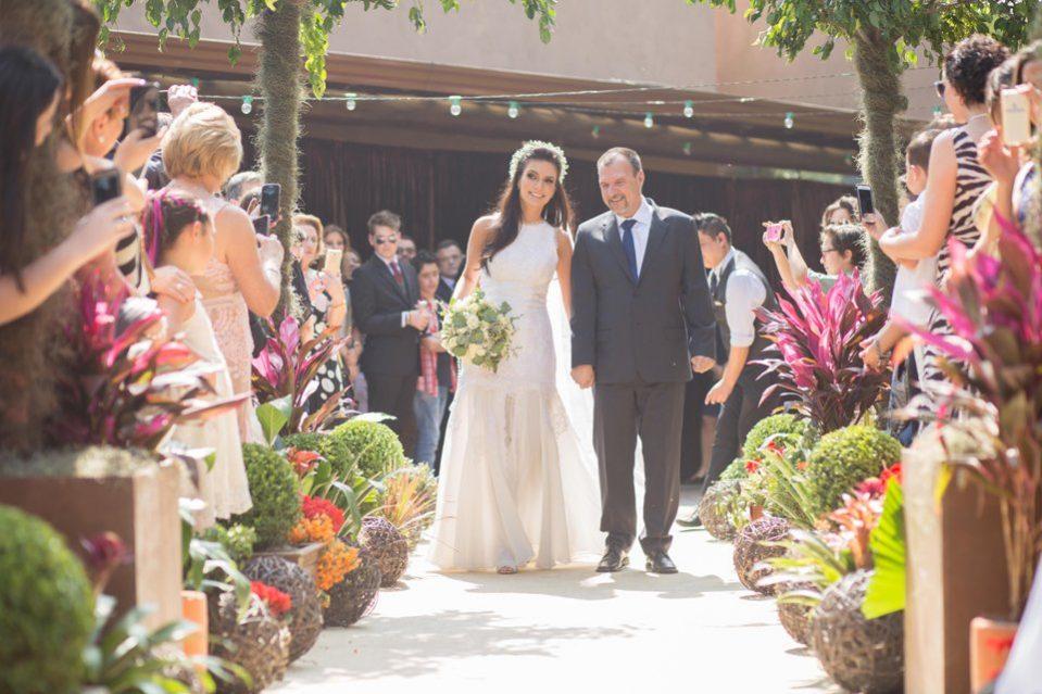 Jornalista Sabina Simonato Casamento