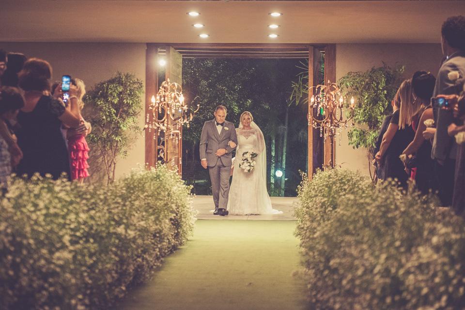 Entrada da Noiva Buffet para Casamento