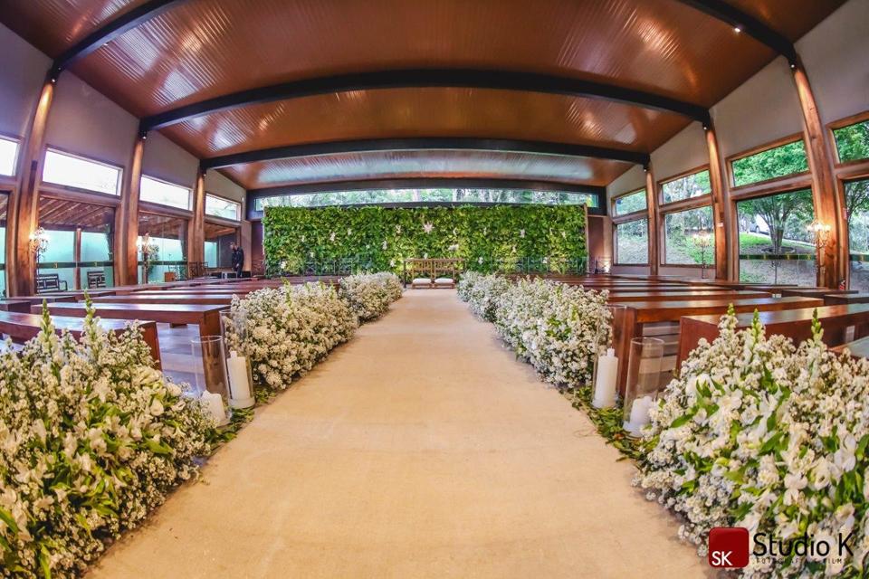 Espaço para Casamento com cerimônia