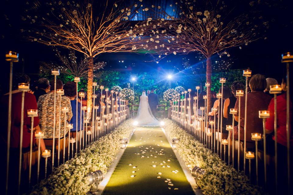 caminho da noiva casamento