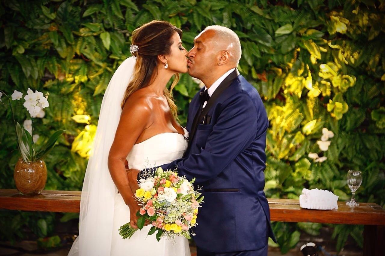 tiririca e nana magalhães casamento
