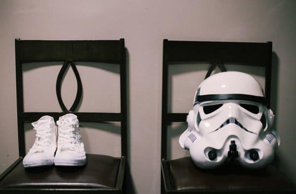 capacete star wars noivo