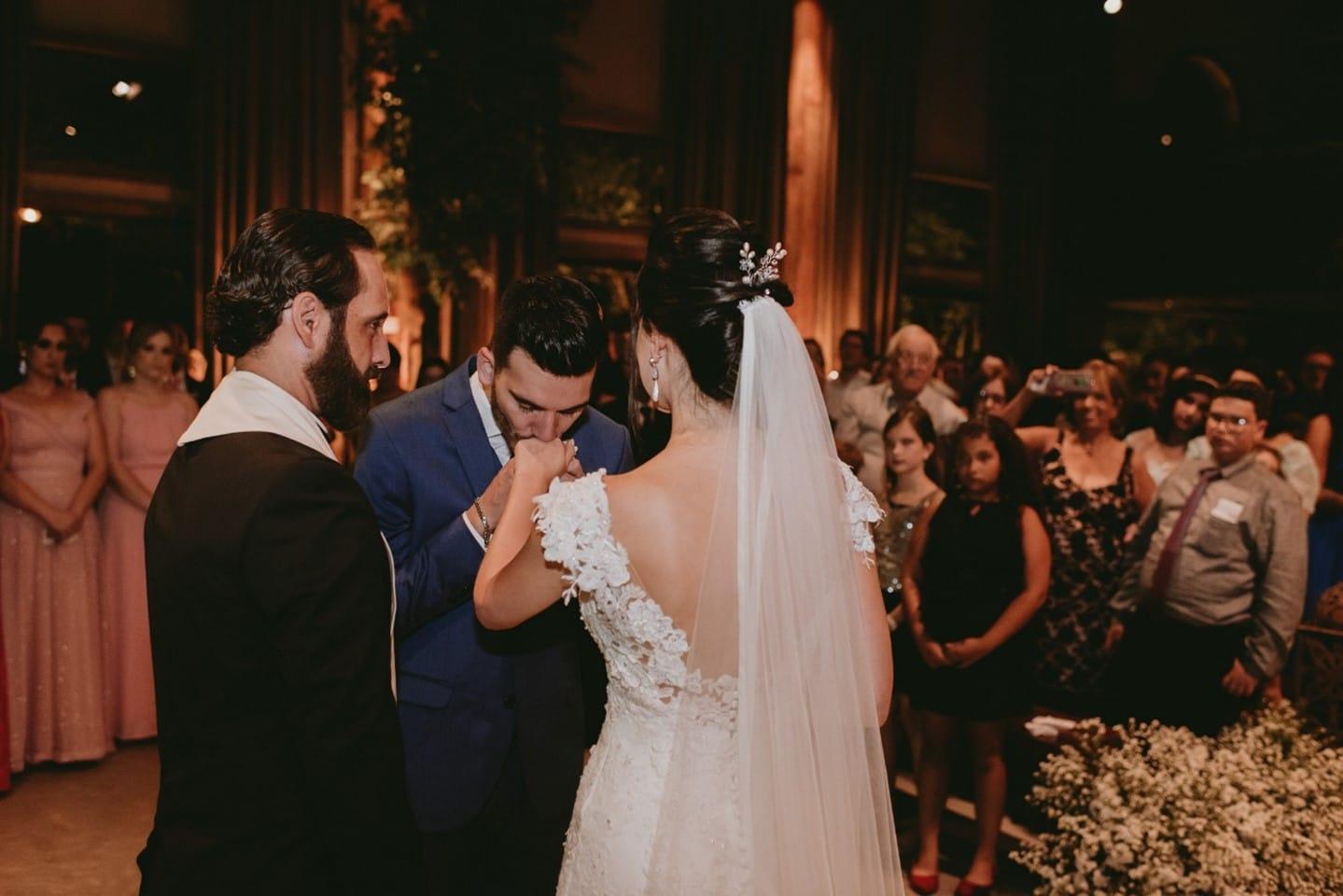 veu de casamento